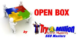 Open Box marketing by Try A Million